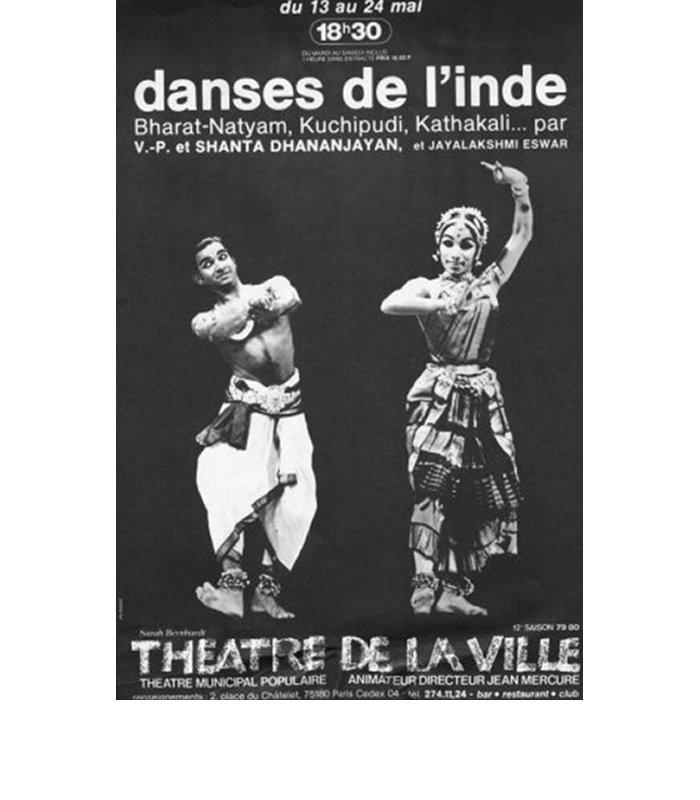 Theatre de la ville, Paris, 1973