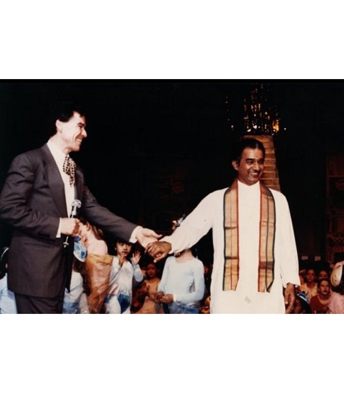 VP Dhananjayan with Jacques d'Amboise