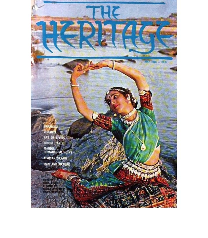 Dancer Ileana Citaristi on the cover of The Heritage, May 1985