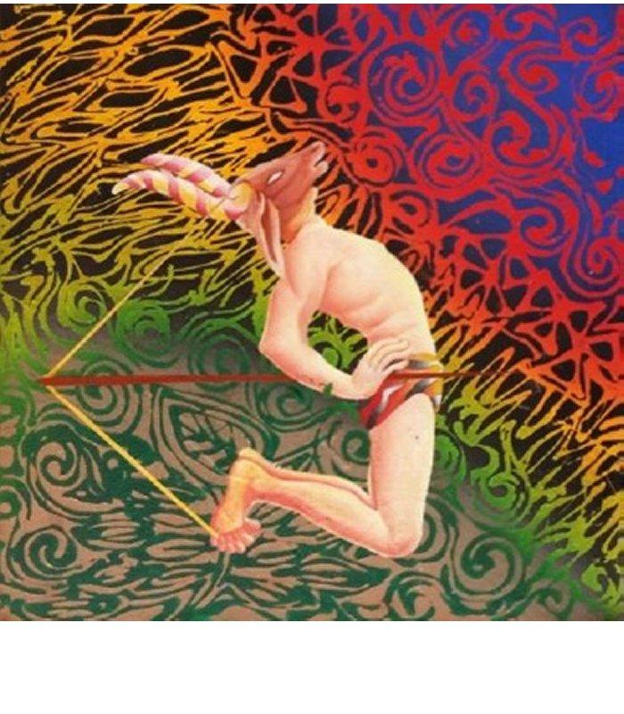 Yogic Imitation Series by artist B.O.Shailesh